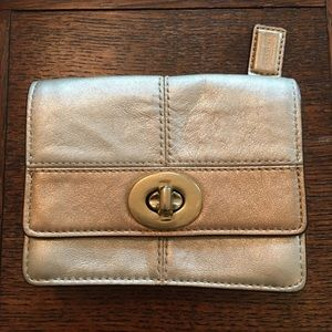 Coach Gold Small Wallet